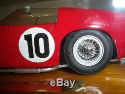 FERRARI 250TRI Le Mans 1961 1/24 unassembled model kit Hill or Rodriguez