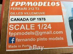 FERRARI 312T3 1978 Canada GP winner 1/24 unassembled model kit