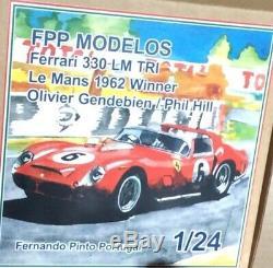 FERRARI 330TR Le Mans 1962 winner 1/24 unassembled model kit