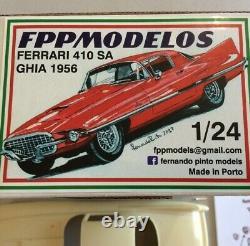 FERRARI 410SA GHIA 1956 1/24 FPPM unassembled model kit