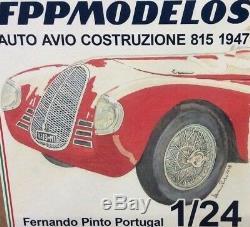 FERRARI Auto Avio Costruzione 815 1940 1/24 FPPM unassembled model kit