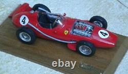 FERRARI DINO 246 F1 France or Portugal GP 1958 unassembled kit 1/24th FPPM