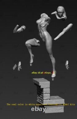 Female 1/6 Unpainted 34cm H Model Kit 3D Print Unassembled Garage Kit GK Statue