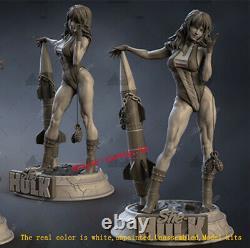 Female Hulk 1/6 Unpainted 35cm H Model Kit 3D Printing Unassembled Garage Kit GK