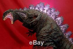 Godzilla Unpainted Resin Model Kits Unassembled LED Light Statue Garage Model