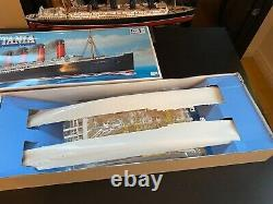 Gunze Sangyo RMS LUSITANIA 1/350 Scale Plastic Model Kit unassembled RARE