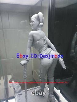 Harley Quinn 1/4 Figure 3D Printing Joker Model Kit Unpainted Unassembled 50cm