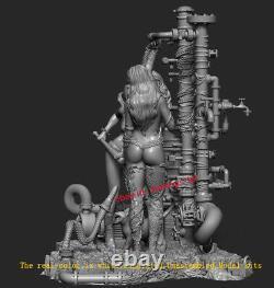 Harley Quinn & Poison Lvy 18 Unpainted 31CM H Model Kit Unassembled 3D Print GK