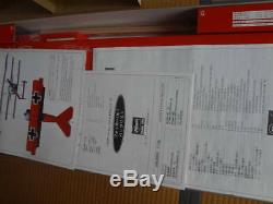 Hasegawa 1/8 Museum model Fokker Dr. I Unassembled rare From JAPAN