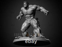 Hulk Unpainted 1/6 Resin 3D Print Model Figure Unassembled GK H45cm/17.7inch