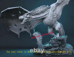 Ice Dragon 1100 Unpainted 17cm Model Kit Unassembled 3D Print Garage Kit Statue