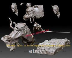 Japanese Samurai 16 Unpainted 28cm Model Kit Unassembled 3D Print Garage Kit
