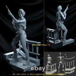 Jill 16 Unpainted 31cm H Model Kit 3D Print Unassembled Garage Kit GK Statue