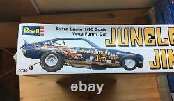 Jungle Jim Vega Funny Car 1/16 scale unassembled kit#0730 sealed/NIB