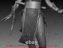 KASUMI NINJA 1/6 Figure 3D Print Model Kit Unpainted Unassembled GK H33cm/13inch