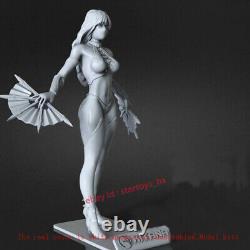Kitana 16 Unpainted 30CM H Model Kit Unassembled 3D Print GK Garage Kit Statue