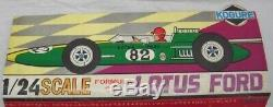Kogure Lotus Ford 1/24 scale Formula car All Plastic model Kit unassembled JPN