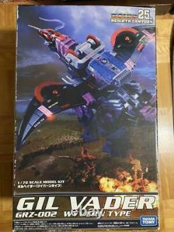 Kotobukiya Zoids Gil Vader Model Kit Unassembled 1/72 Scale 25th Rebirth Century