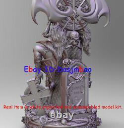 Lady Death Figure 3D Print Model Kit Sexy Woman Unpainted Unassembled GK H32cm