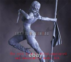 Mileena Unpainted Resin Figure 3D Print Model Kit Unassembled GK H48cm/18.8inch