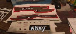 Miss Budweiser Testors Unassembled Plastic Model Kit 1/25 scale Hydroplane