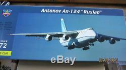 ModelSvit 7201 1/72 Airplane AN-124 Ruslan model kit