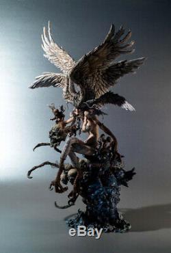NEW 430mm Unpainted Resin Devil Man Figure Model Unassembled Garage Kits Statue