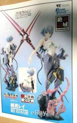 Neon Genesis Evangelion Rei Ayanami 1/4 Scale Rein Unassembled Model Kit Set NIB