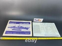 Nichimo 1/200 Kit Asagumo JMSDF DDK-115 Power Model Unassembled Vintage OOP