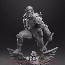 Nightwing 4 Heads Ver. 1/6 Figure 3D Print Model Unpainted Unassembled GK H30cm