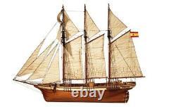 OCCRE 13002 Esmeralda Ship Building Kit 158 Scale Kit Unassembled