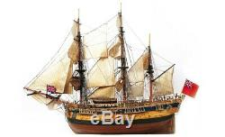 OCCRE 14005 Endeavor Ship Building Kit 154 Scale Kit Unassembled