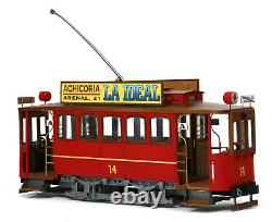 OCCRE 53002 Madrid Tram Unassembled Building Kit 1/24 G Scale
