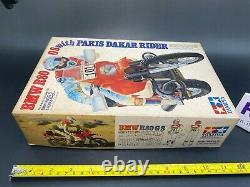 OSHIKA TAMIYA 1/12 BMW R80 G/S with Paris Dakar Rider unassembled, Vintage 1987
