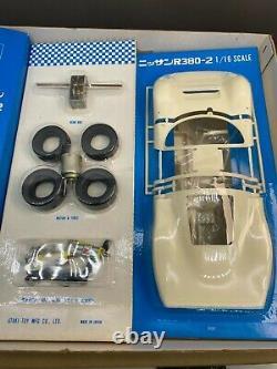 Otaki 1/16 Nissan R380-2 Vintage Plastic Model Kit Unassembled