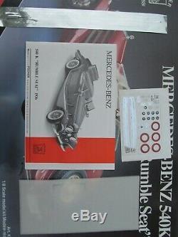 POCHER (K90) 1936 Mercedes-Benz 540K Rumble Seat 18 Scale Mostly Unassembled