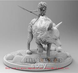 Princess Mononoke Figure 3D Printing Model Kit Unpainted Unassembled H20cm GK