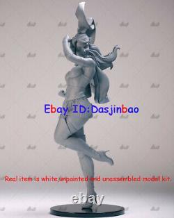Princess Warrior and Superwoman 3D Print Model Kit Unpainted Unassembled 34cm GK