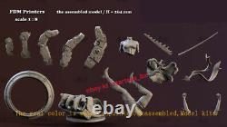Psylocke 18 Unpainted 26cm H Model Kit Unassembled 3D Printing Garage Kit GK