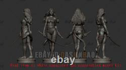 Psylocke 1/6 Standing 3D Print Model Kit Unpainted Unassembled GK 31cm/12.2inch