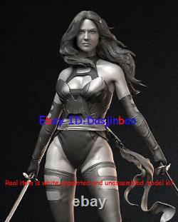 Psylocke With Double Katana 1/6 3D Print Model Kit Unpainted Unassembled 35cm GK