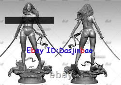 Psylocke Without Armor 1/6 Figure 3D Print Model Kit Unpainted Unassembled 35cm