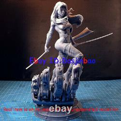 Psylocke X-men 1/6 Figure 3D Printing Model Kit Unpainted Unassembled 35cm GK