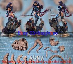Psylocke X-men 1/8 Figure 3D Printing Model Kit Unpainted Unassembled 26cm GK