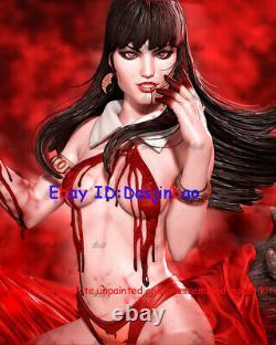 Queen of Vampire 1/6 3D Print Model Kit Unpainted Unassembled 30cm 2 Head 2 Body
