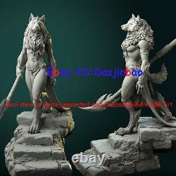 Queen of Werewolf 1/6 Figure 3D Print Model Kit Unpainted Unassembled 35cm GK