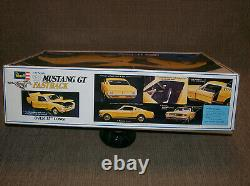 Rare 112 Scale Revell'65 Mustang GT Model Kit Mostly Unassembled Vintage Ford