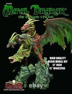 Reaper Miniatures Ma'al Drakar the Dragon Tyrant Resin Model Kit 10046 Unpainted