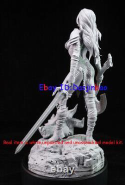 Red Sonja 1/6 Figure 3D Print Model Kit Beauty Woman Unpainted Unassembled 33cm