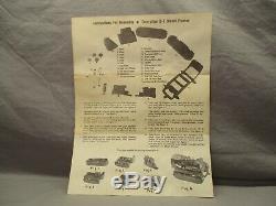 Reuhl Products CAT Scraper No. 70 & Greyshaw CAT D7 (2) Plastic Kits KA 54,55